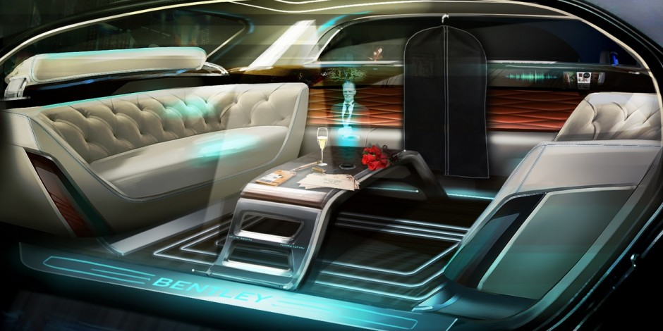 Bentley Fires Up Sci Fi Fans With Future Vision Of