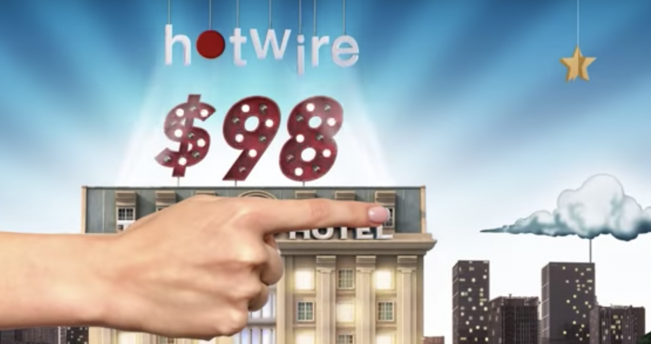 Quirky Hotwire campaign hides hotel names to lower prices for consumers | The Drum