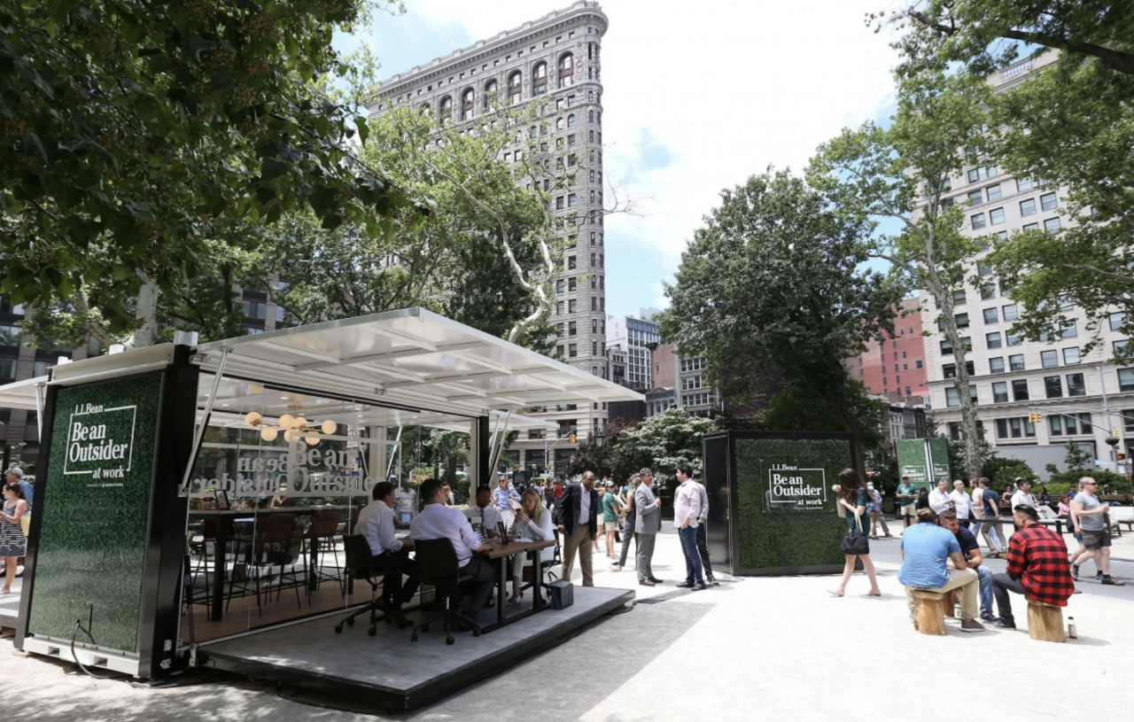 US Creative Work of the Week: L.L. Bean gives office workers a way to work outdoors