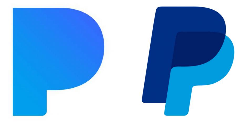 A Paypal  Pandora Logo Battle
