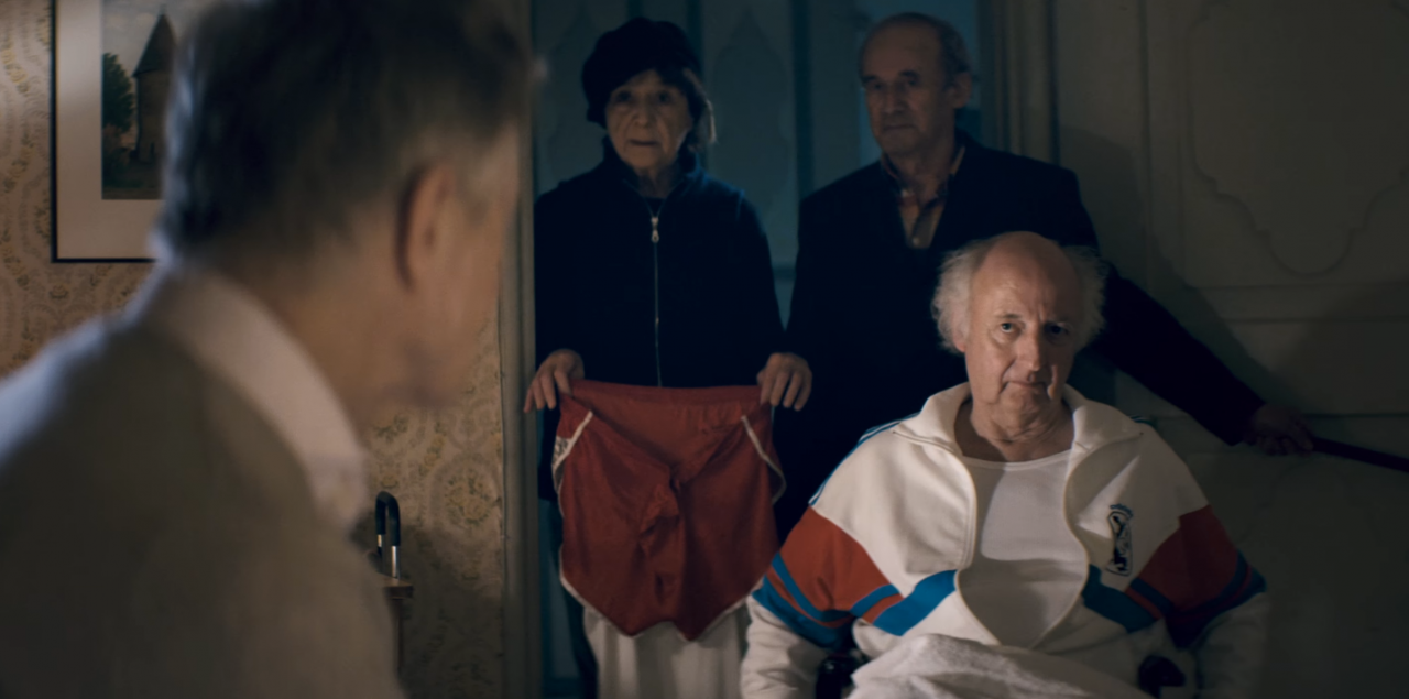 adidas commercial nursing home