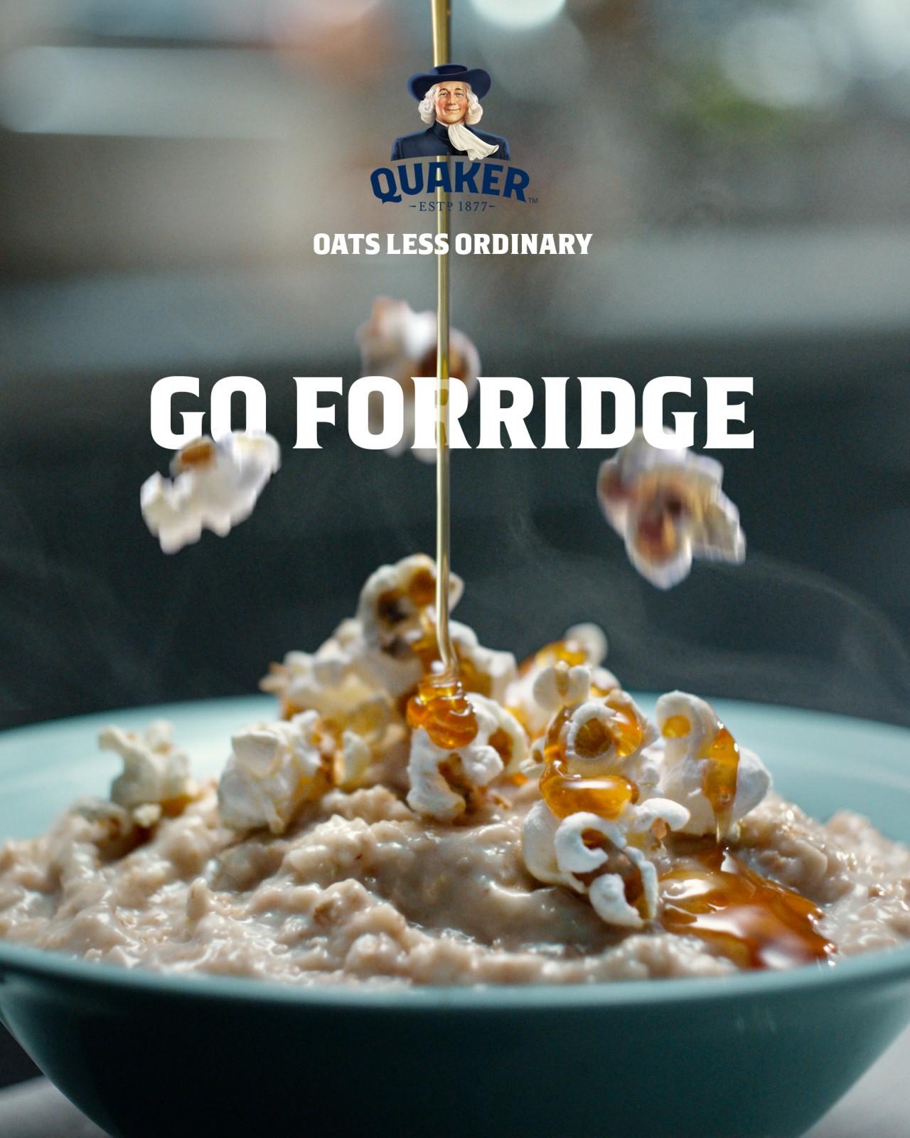 Quaker Oats: Go Forridge by AMV BBDO   Creative Works   The Drum