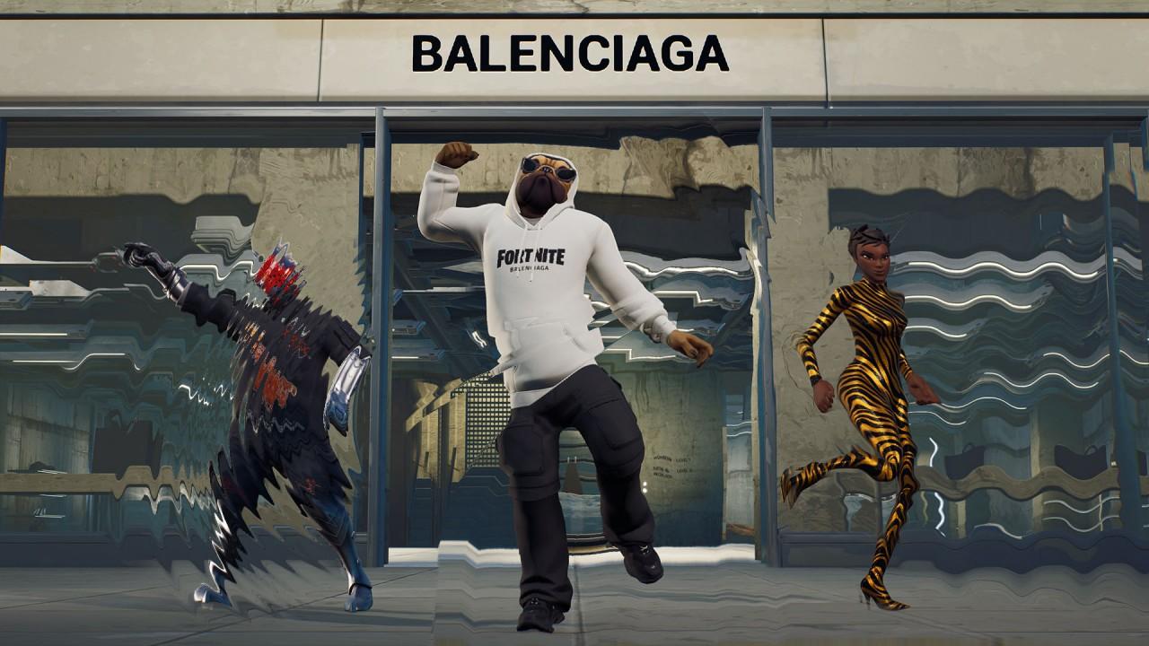 Balenciaga blurs fashion boundaries with Fortnite tie-in