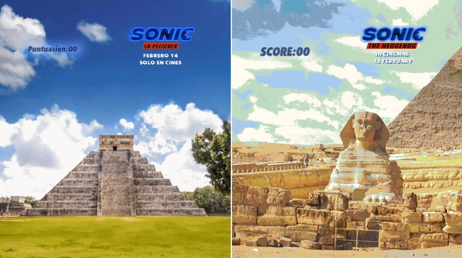Landmark Campaign Marks The Release Of Sonic The Hedgehog The Drum