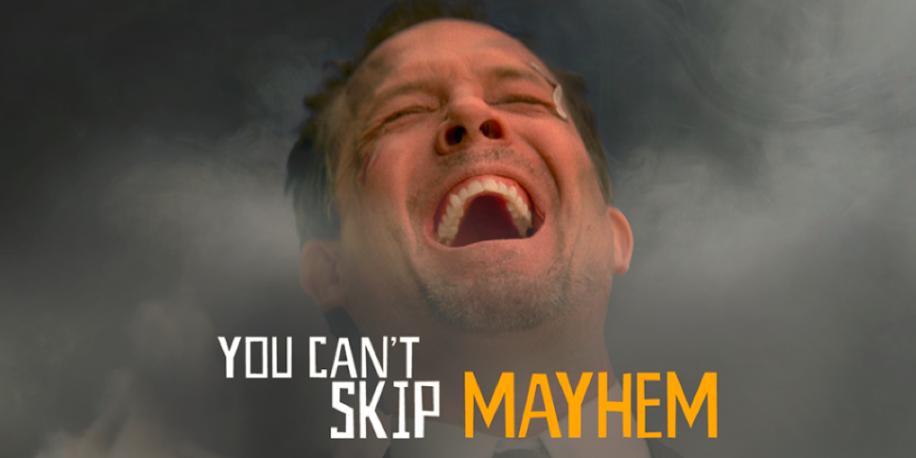 mayhem commercial