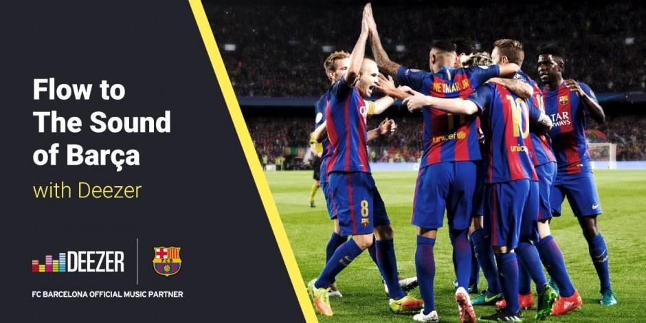Deezer Continues Big Football Sponsorship Push With Barcelona