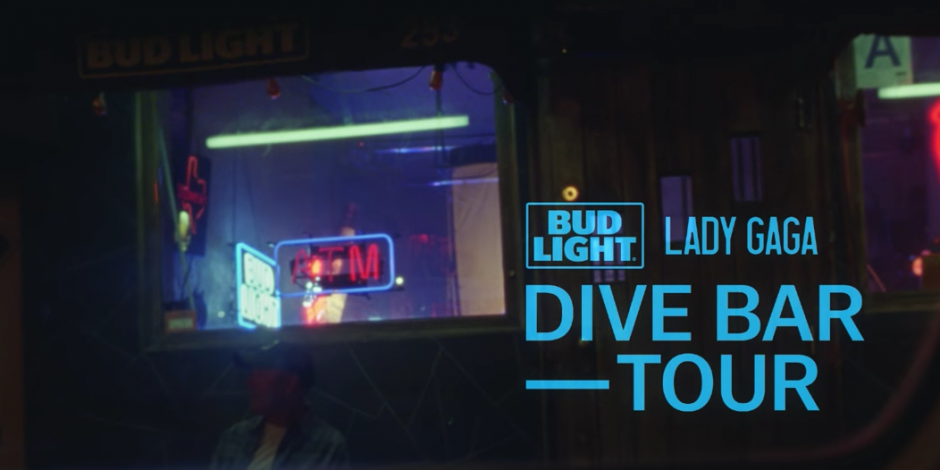 Lady Gaga Partners With Bud Light For Three Stop Dive Bar