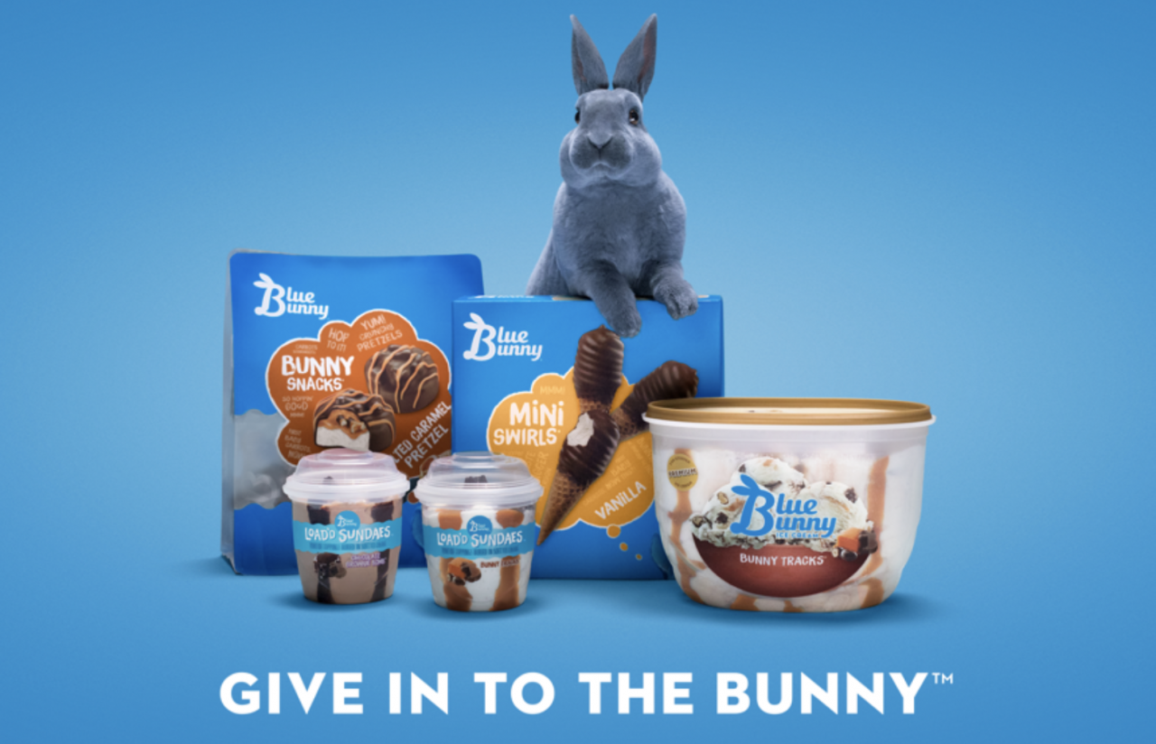 Blue Bunny Ice Cream Gets A Brand Update Urging People To Give In