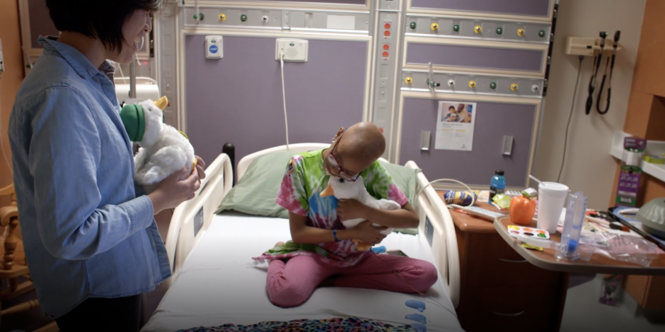 Behind Aflac's branded product helping kids with cancer