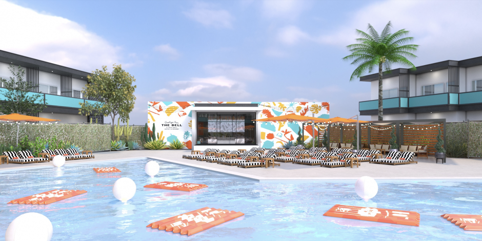 Taco Bell offers fans a first look at its signature Palm Springs hotel