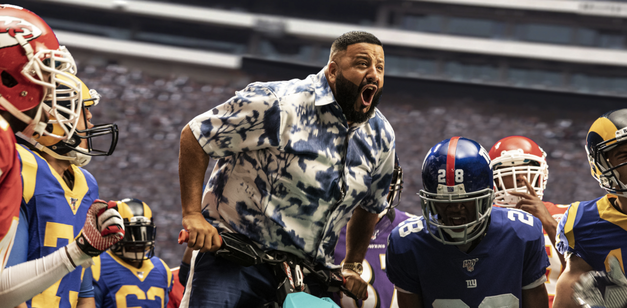 DJ Khaled crashes star-studded EA Sports Madden NFL 20 promo