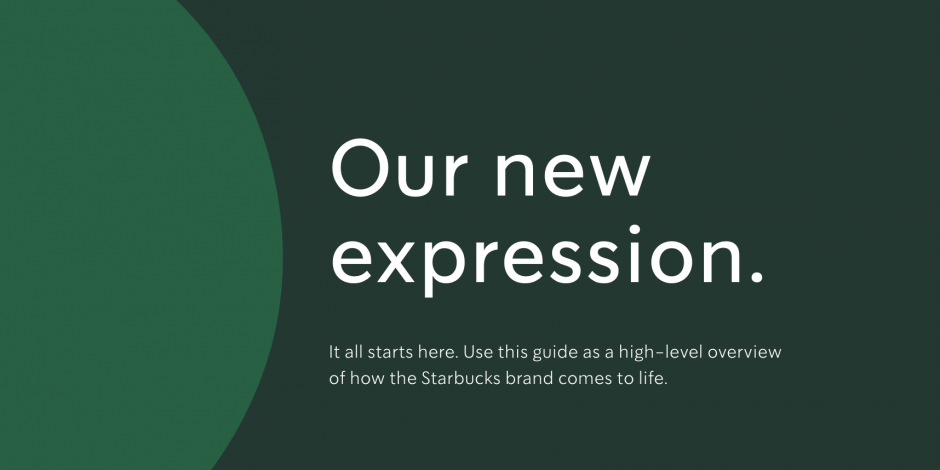 Starbucks Redefines Its Creative Brand Expression With