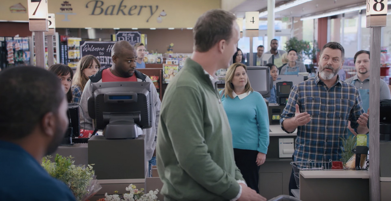 Ads We Like: Tide completes its #LaundryNight debate with Nick Offerman getting the last word