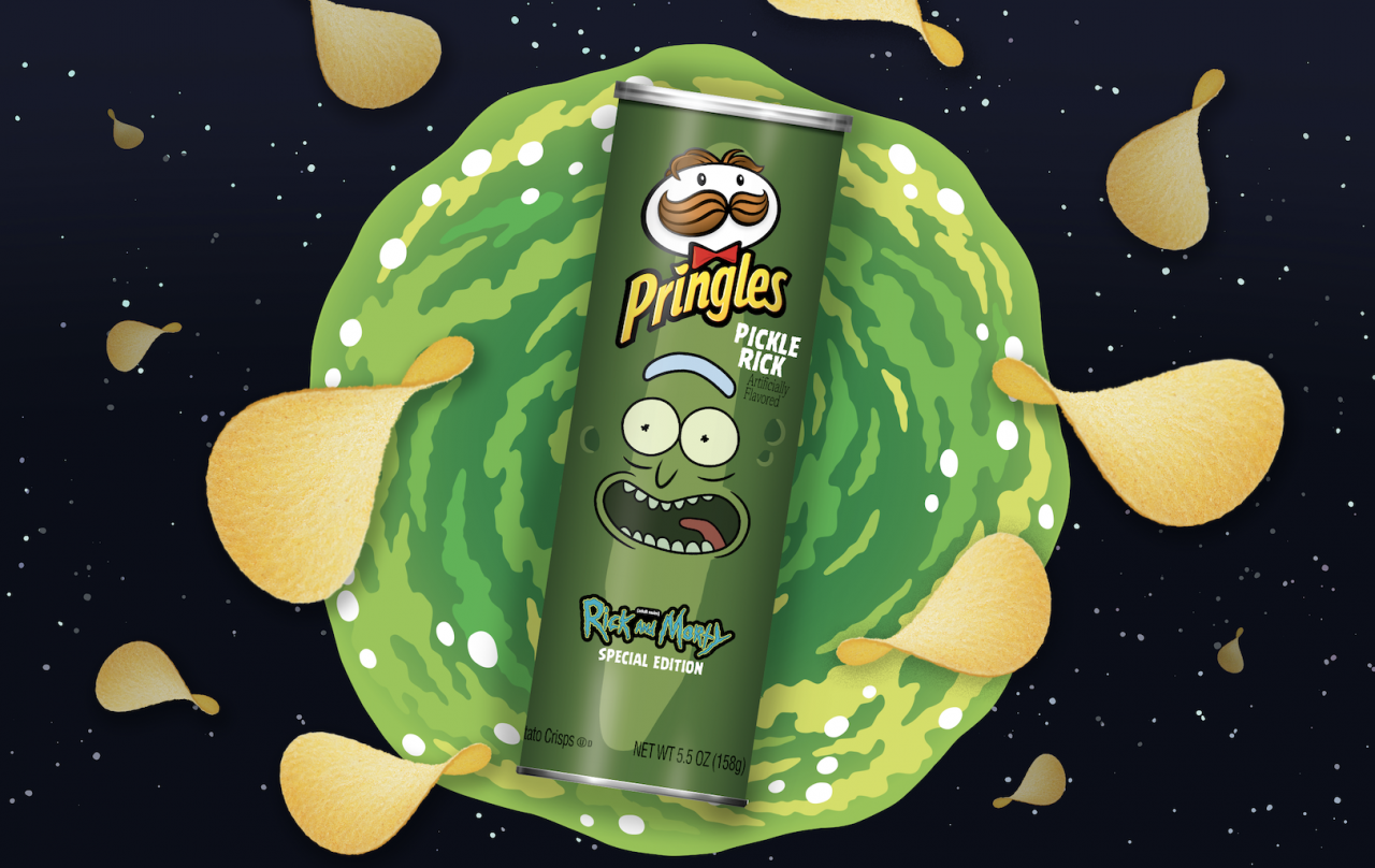 Pringles returns to the Super Bowl with a Rick and Morty twist