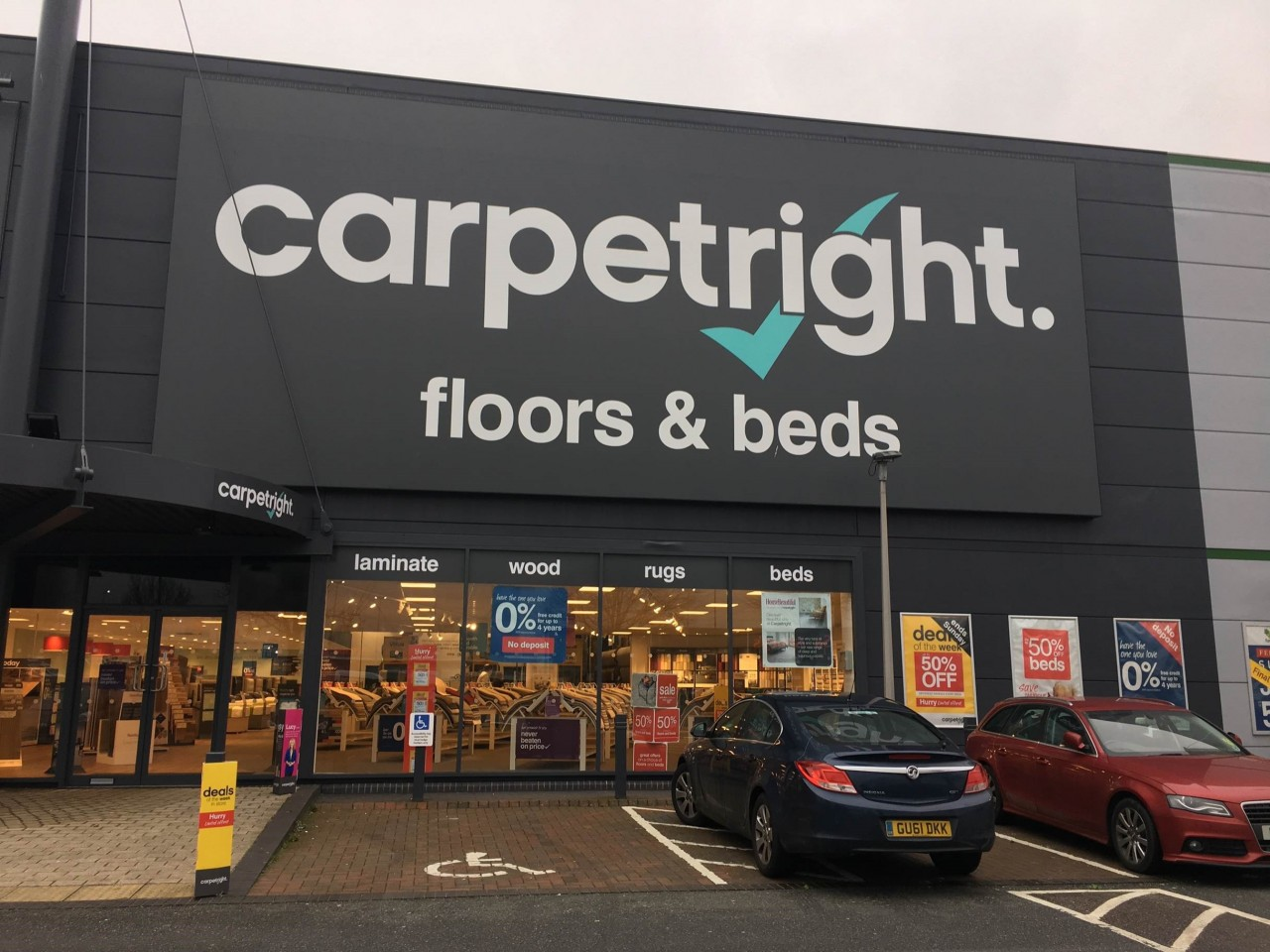 Carpetright roll out the rugs with Whippet after success with refurbishment programme
