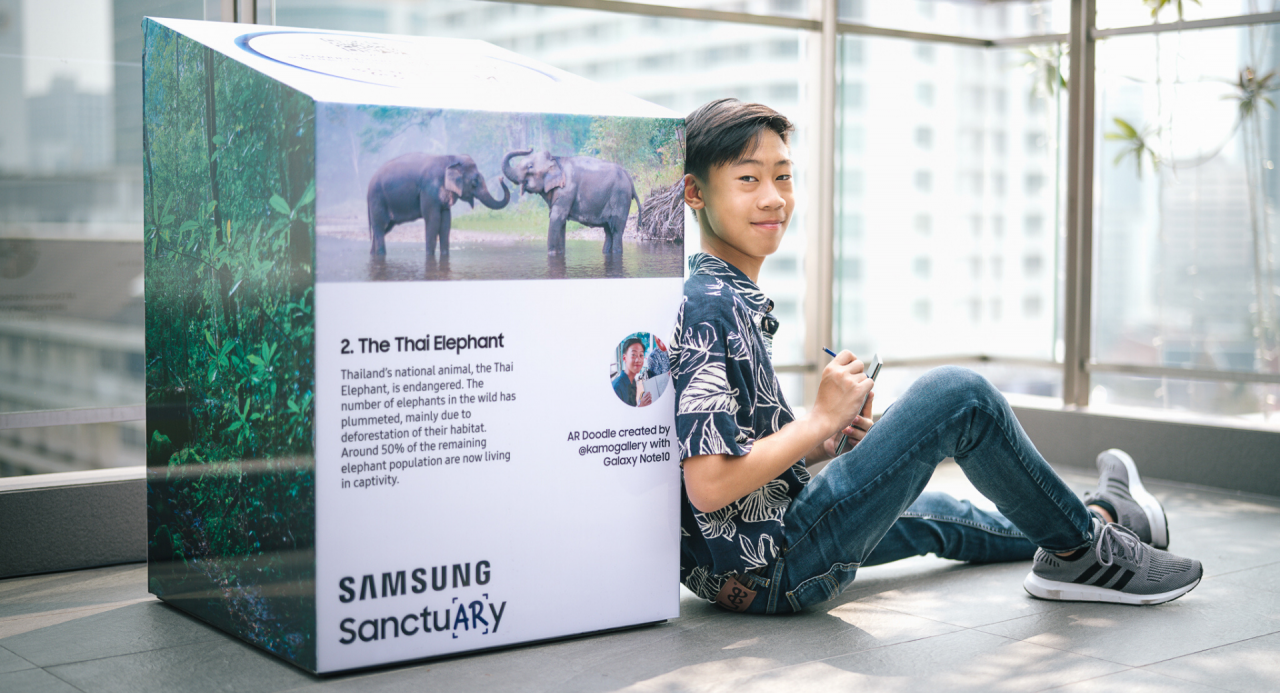 Samsung Thailand raises awareness of endangered animals with SanctuARy experience