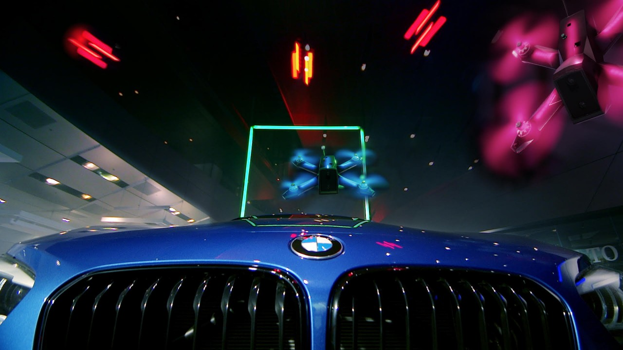 Drone Racing League adds BMW sponsorship, horsepower and race course to expanding sports franchise