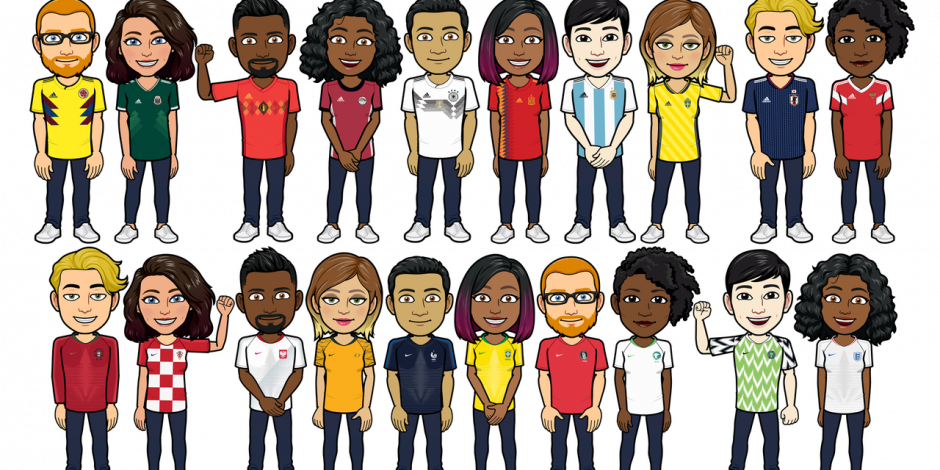 taille 40 4f7cc d0a2d Adidas and Nike team up with Bitmoji to give virtual kit ...
