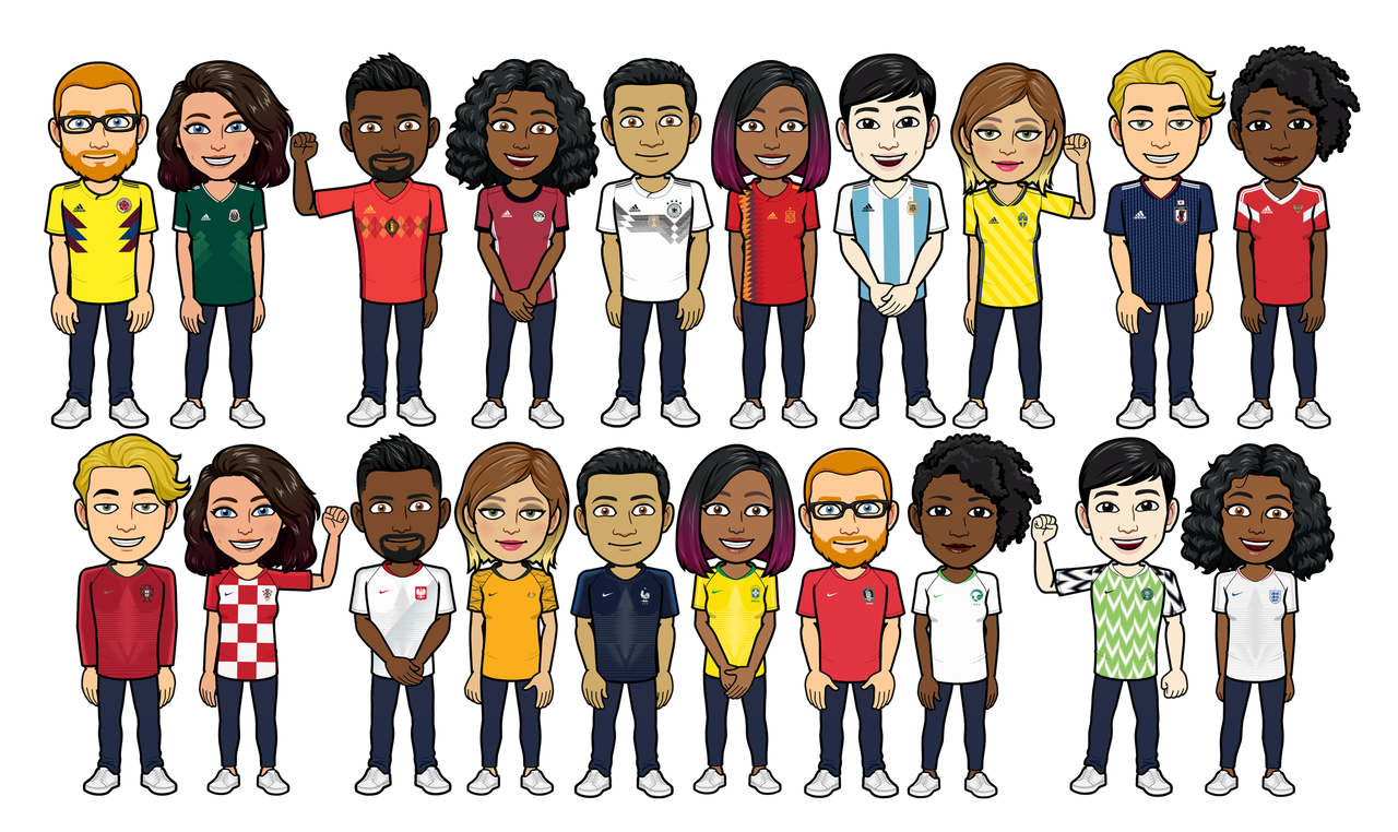 Adidas And Nike Team Up With Bitmoji To Give Virtual Kit Access To Football Fans The Drum
