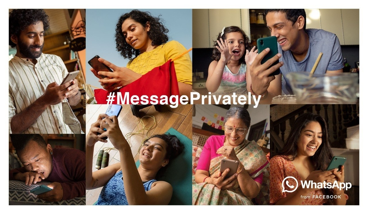 WhatsApp launches brand marketing campaign 'Message Privately' in India