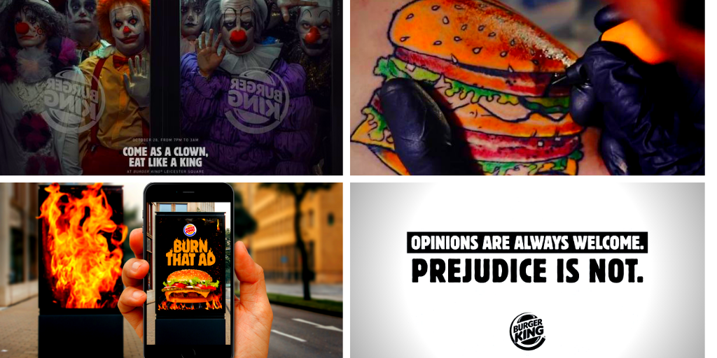 The best Burger King ads that burned its rivals