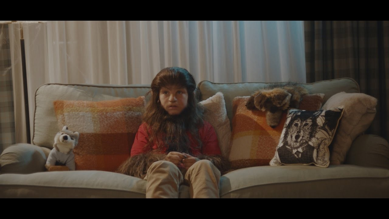 ad of the day: asda helps young werewolf - finally - do halloween