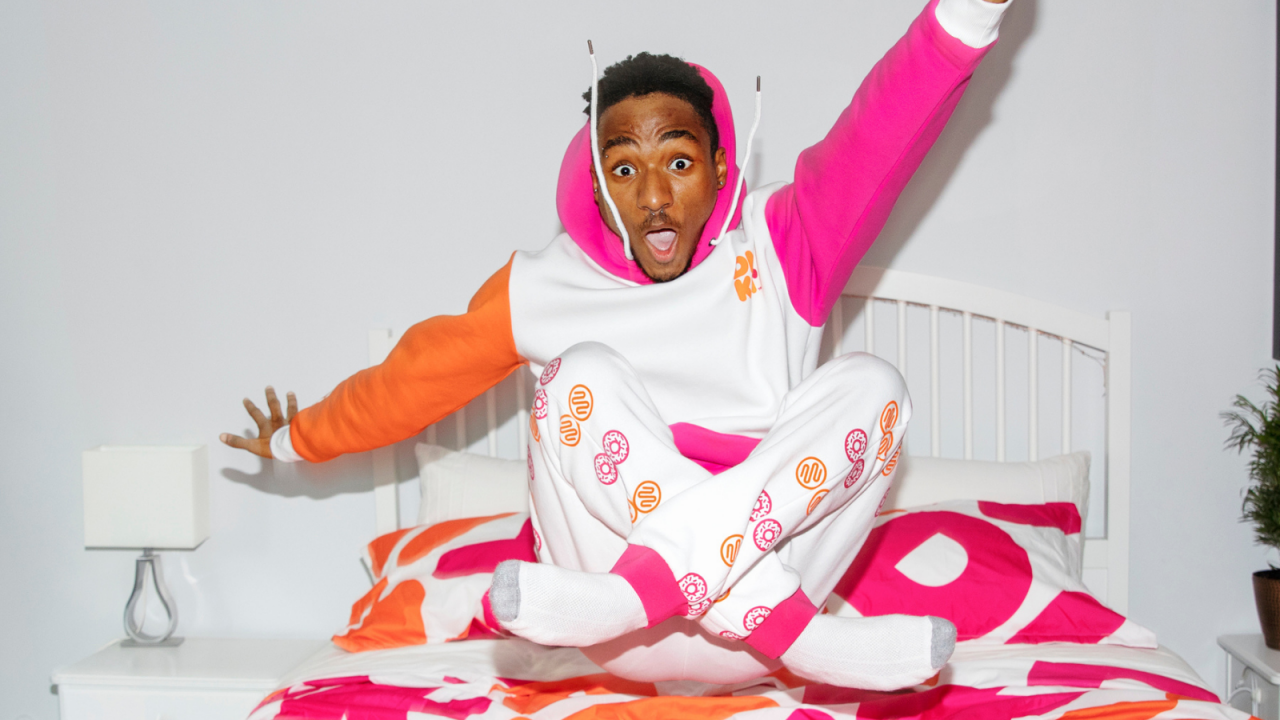 From Dunkin' PJs to Doritos' sweaters: why brands are leaning on licensed products