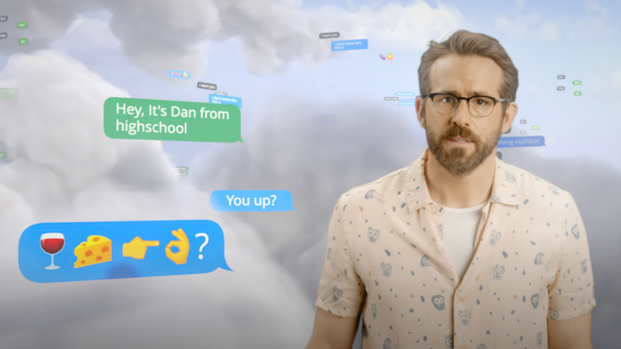 'Don't completely lose your shit,' advises Ryan Reynolds in Aviation Gin/Mint Mobile PSA