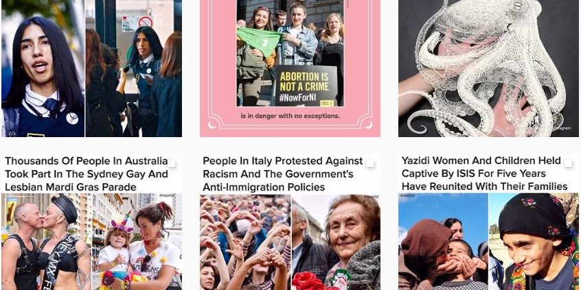 Why BuzzFeed is tailoring hard news for Instagram with @World   The Drum