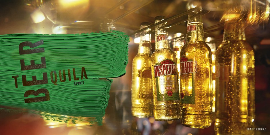Desperados Turns Focus Back On Tequila In Latest Refresh As Competition Heats Up The Drum