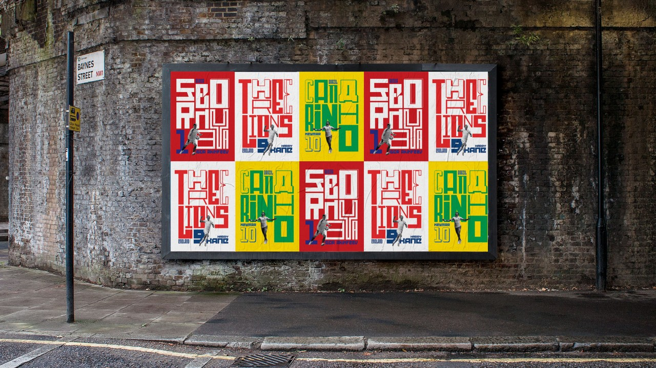 Agency Initiative: World Cup typography by LoveGunn | Creative Works