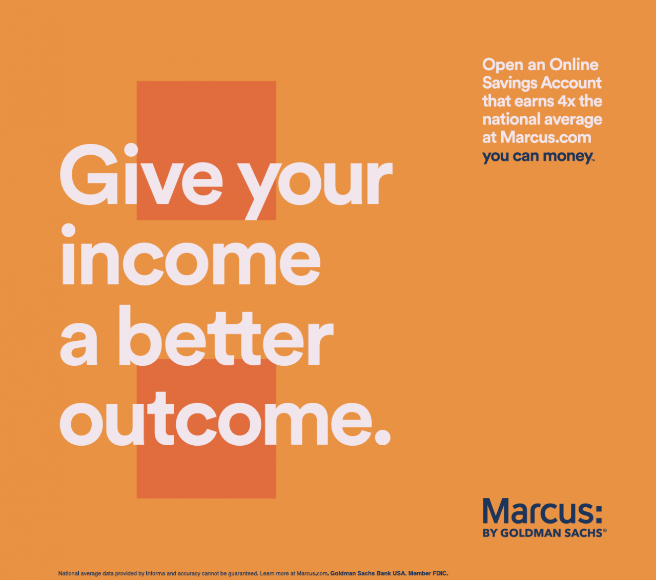 Marcus by Goldman Sachs: You Can Money by 72andSunny